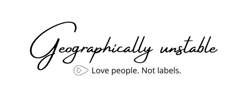 Geographically Unstable Logo